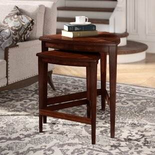 Online Reviews Carey 2 Piece Nesting Tables By Darby Home Co