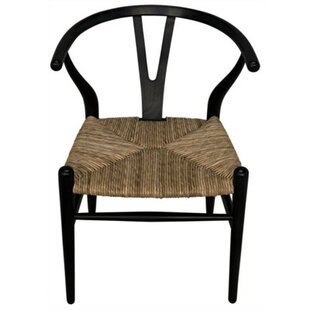 Zola Solid Wood Dining Chair by Noir