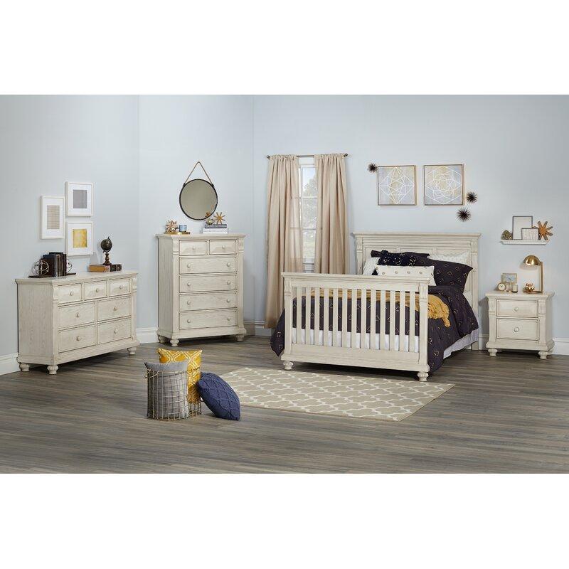 Kingsley Sedona Solid Wood Sleigh 4 Piece Bedroom Set Wayfair