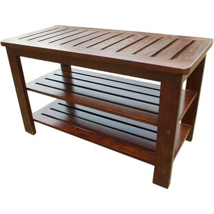 Latitude Run Sartell Wood Storage Bench