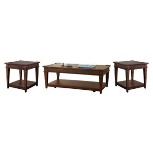 Wheaton 3 Piece Coffee Table Set