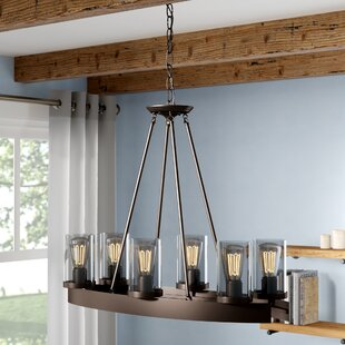 Laurel Foundry Modern Farmhouse Florine 6-Light Shaded Chandelier