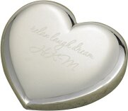 JDS Personalized Gifts Personalized Gift Light-Hearted Love Heart Paper Weight