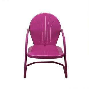 Johnie Retro Outdoor Metal Chair