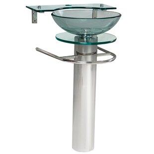 Pedestal Sink With Towel Bar Wayfair