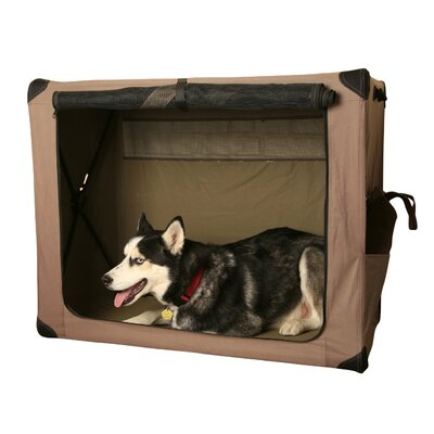 Digs Collapsible Pet Crate Abo Gear Size: Large