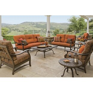 Tropitone Ravello Deep Seating Group with Cushions