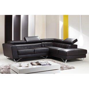 Amalia Leather Sectional