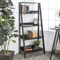 Langley Street Imogen 55-in H x 24-in W Ladder Bookcase