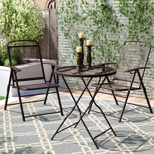 Kristen 3 Piece Bistro Set by Winston Por..