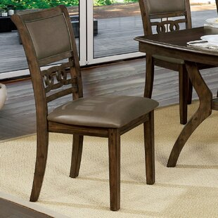 ClipperCove Upholstered Dining Chair (Set of 2) Winston Porter