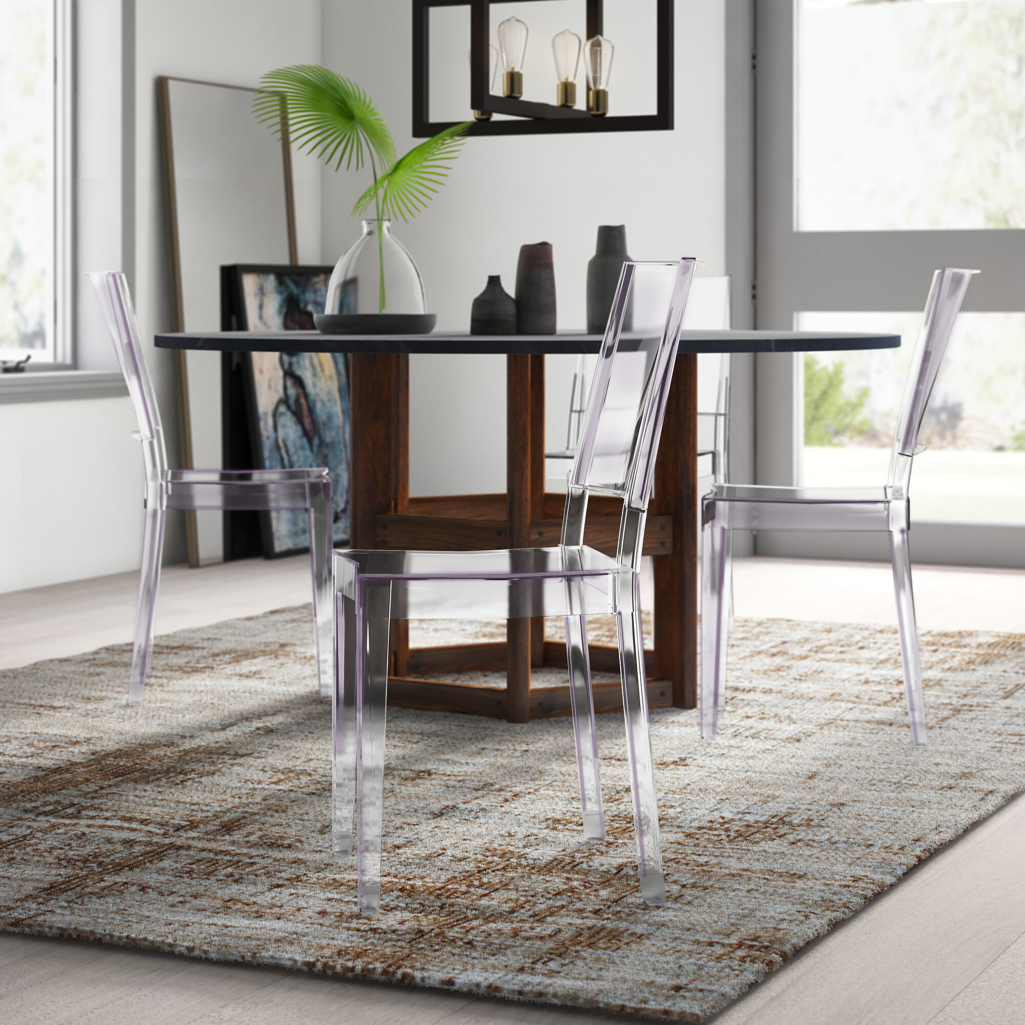Clear Modern Contemporary Kitchen Dining Chairs You Ll Love In 2021 Wayfair