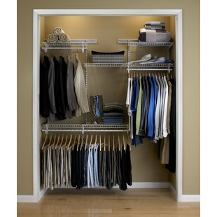 Adjustable Clothes Storage System Up To 183cm Wide By Closetmaid