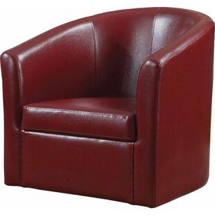 Red Barrel Studio Angileh Slickly Compact Barrel Chair