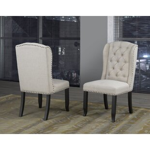 Mcnamara Upholstered Dining Chair (Set of 2) Alcott Hill