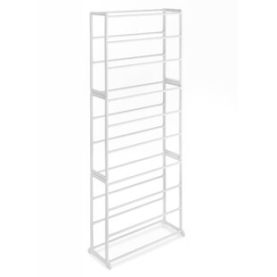 Find a Floor 10-Tier 30 Pair Shoe Rack By Whitmor, Inc