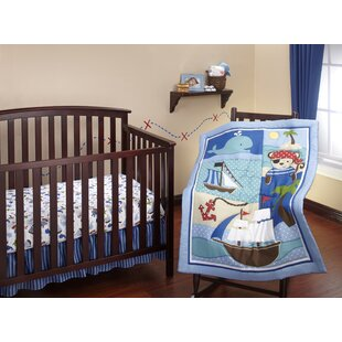 Affordable Baby Buccaneer 3 Piece Crib Bedding Set ByLittle Bedding by NoJo