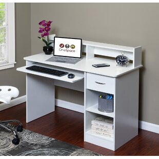 Essential Computer Desk With Hutch