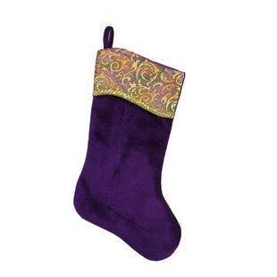 regal peacock christmas stocking - Purple Christmas Stockings