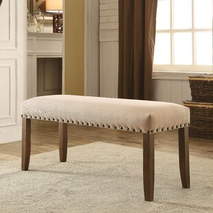 Loon Peak Holly Hills Upholstered Bench