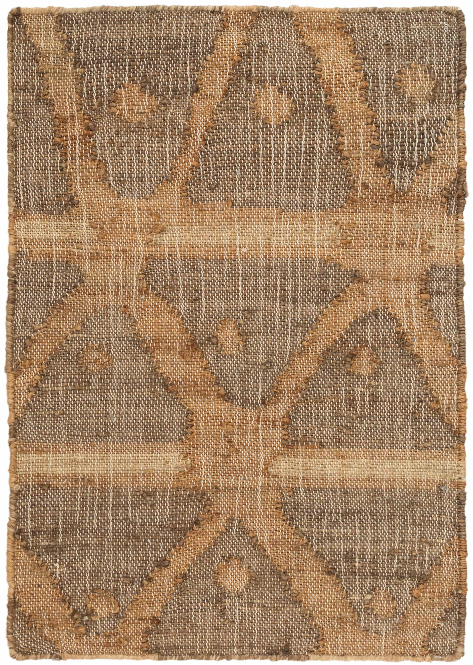 Dash And Albert Rugs Rumi Geometric Hand Knotted Brown Area Rug Reviews Wayfair