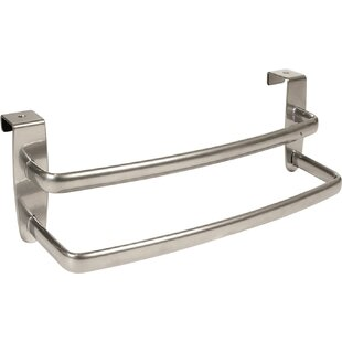 Double 11 Over Cabinet Towel Bar