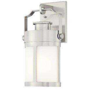 Vista Delmar 1-Light Outdoor Wall Lantern by Great Outdoors by Minka