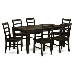 Lynfield 7 Piece Dining Set East West Furniture