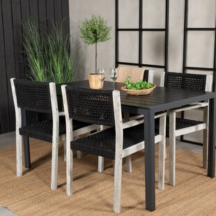 Aldine 4 Seater Dining Set By Sol 72 Outdoor