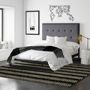 Rhyne Upholstered Platform Bed by Mercury Row