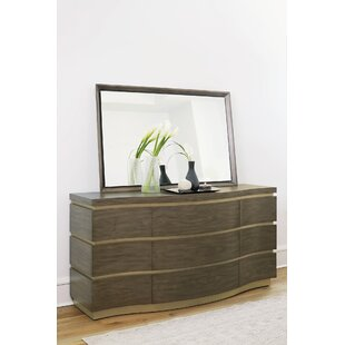 Profile 9 Drawer Dresser with Mirror