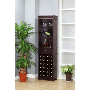 Charlton Home Gorlest Wooden Bar Cabinet