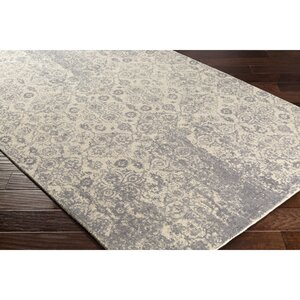 Anselma Hand-Loomed Neutral/Gray Area Rug
