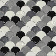 Find The Perfect Fish Scale Marble Look Bathroom Tile Wayfair