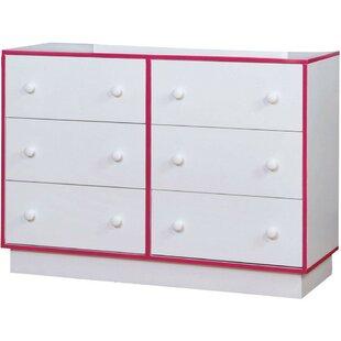 Best Deals Barraclough 6 Drawer Double Dresser by Latitude Run