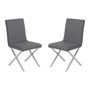 Hawkins Contemporary Dining Side Chair (Set of 2) by Orren Ellis