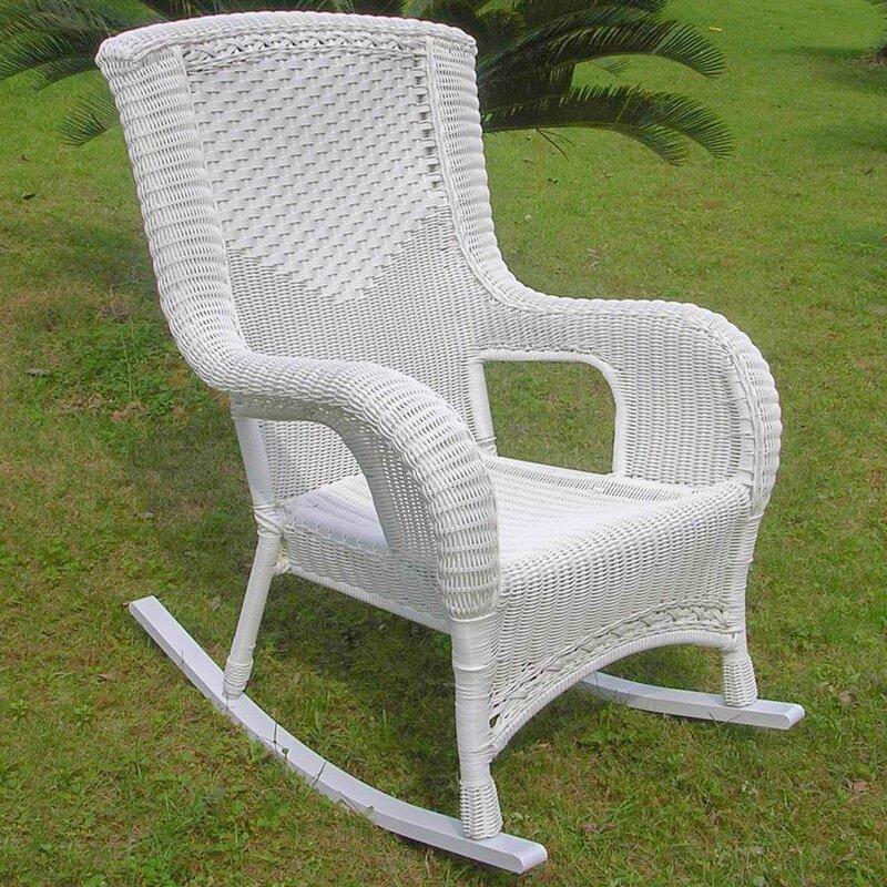 Cool Wellington High Back Patio Rocking Chair Download Free Architecture Designs Xerocsunscenecom