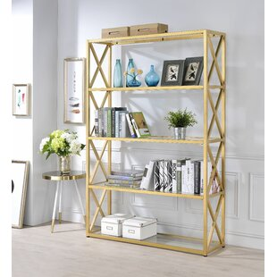 Everly Quinn Lorenza Etagere Bookcase