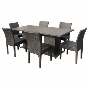 Medley 8 Piece Dining Set By Rosecliff Heights