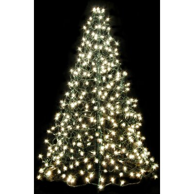 Crab Pot Christmas Trees Crab Pot Christmas Tree® with 300 Incandescent Mini Lights Colour: Clear