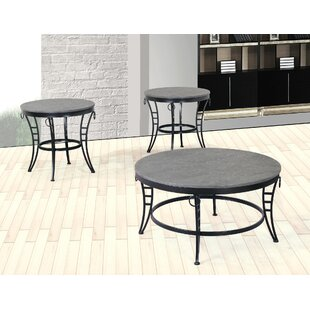 Rickman 2 Piece Coffee Table Set Winston Porter