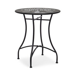Fortenberry Steel Bistro Table By Lily Manor