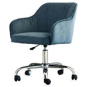 velvet office chairs you'll love | wayfair