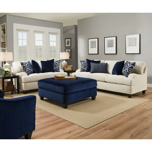 Simmons Upholstery Geaux Sterling Sleeper Sofa by Three Posts