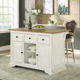 Elborough Kitchen Island by Gracie Oaks
