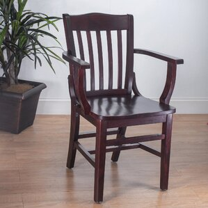 Schoolhouse Solid Wood Dining Chair by Benkel Seating