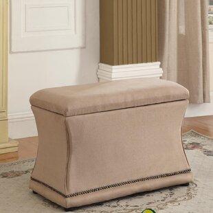 House of Hampton Porter Upholstered Storage Bench