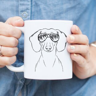 Currie Dachshund Doxie Weiner Dog Coffee Mug