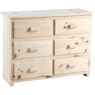 Chelsea Home Furniture Laddie 6 Drawer Do..