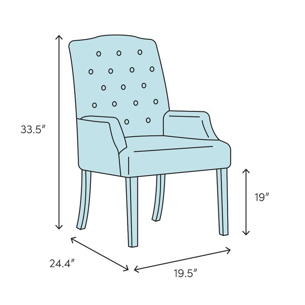 Williston Forge Besaw Upholstered Dining Chair Wayfair